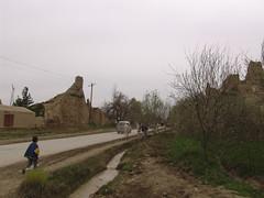 Mazar's ancient city walls