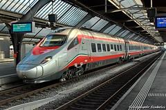 Alstom ETR 610 Trenitalia (Szászgáspár Szabolcs) Tags: trenitalia treno milano italia zürich hb switzerland swiss zug trains tren vonat svájc mozdony elvetia