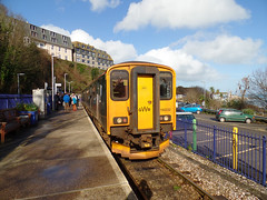 150232 St Ives (Marky7890) Tags: gwr 150232 class150 sprinter 2a15 stives railway cornwall stivesbayline train