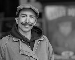 Handle Bar (Jose Matutina) Tags: caifornia calico civilwar mustache reenactment reenactors sel85f14gm sonya7ii yermo