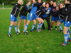 women's touch rugby team (Kosovo Bradt guide book author) Tags: school london business lbs
