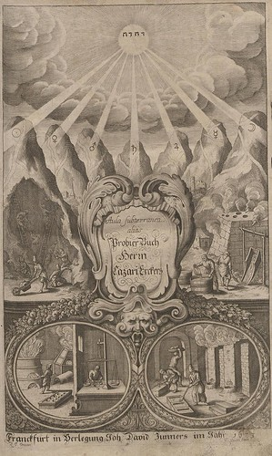 Probier Buch (Aula Subterranea) by Lazarus Ercker, 1673 (dresden)