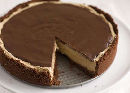 Frozen Mocha Pie has a buttery and crunchy crust, plus a luscious ...