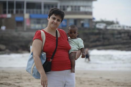 Thanda & Mum