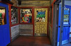 Joe's Stuff (BKHagar *Kim*) Tags: door food fish restaurant orlando doors peace florida joe eat pirate seafood fl peacesign joescrabshack bkhagar
