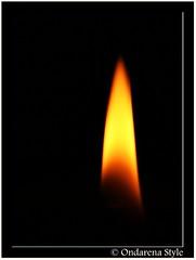 send you a light... (G.Hotz Photography (busy as a bee =)) Tags: light macro fire austria licht sterreich candle sony kerze bregenz flame 100 alpha makro flamme goldstar dunkel 2007 ih vorarlberg dard 10faves mywinners abigfave impressedbeauty ultimateshot flickrenvy ondarena