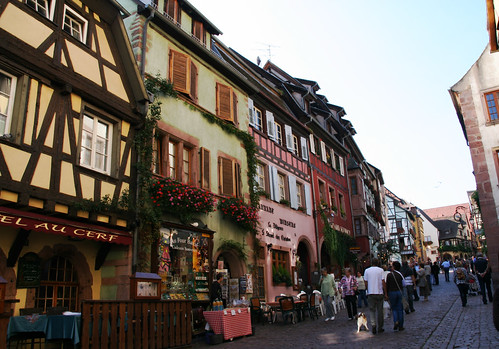 Streets in Riquewihr -2