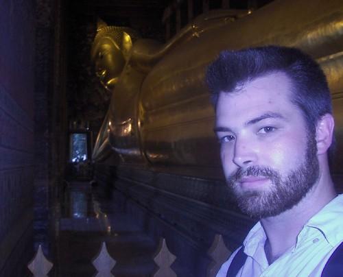 Taylor and a Big Buddha