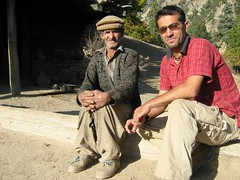 Me and Kalash shepherd (imranthetrekker , new year new adventures) Tags: pakistan snow afghanistan mountains history tourism church nature architecture river oak adventure glaciers greenery peshawar suspensionbridge polo nwfp juniper mosques shepherds silkroute chitral khyberpass hindukush terichmir romboor torkham imranthetrekker imranschah northpakistan kalashvalleys shandoorpass muhabbatkhanmosque bamborate chitralguy thecastleoffairies trekkinginkalashvalleys shandoorfestival stctahedral kalashpasses donsonpass kundayakpass