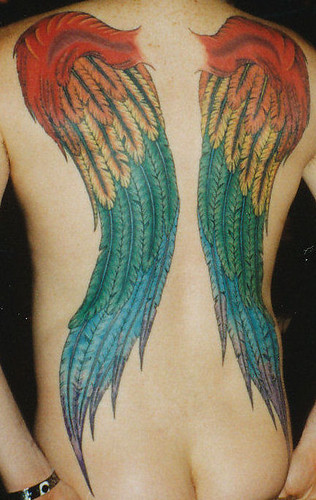 tattoo wings. Back Tattoo - Wings