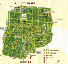 Pere Lachaise Map