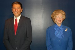 Ronald Reagan & Margaret Thatcher (10147) by Thomas Becker