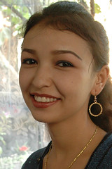 My Uighur wife (Rafal Bergman) Tags: china people woman girl lady young uighur xinjiang turpan