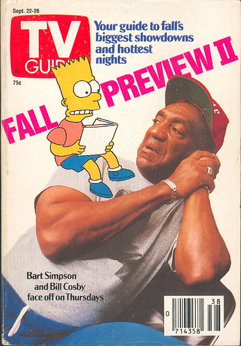 Tv Guia Bart Simpson Bill Cosby