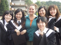 April, Flora, Emily, Me, Fion, and Stacy