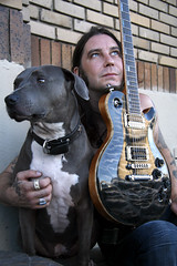 Annabell and Matt Pike (taija lynn) Tags: metal guitar sleep pitbull bluenose highonfire apbt relapse mattpike taijalynn
