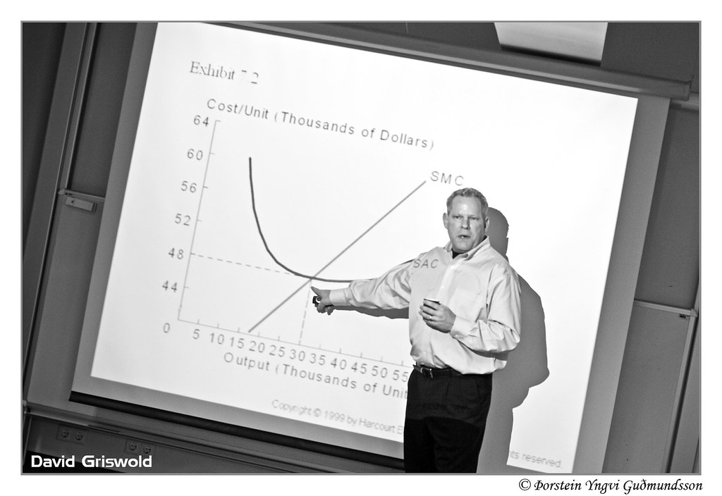 David Griswold, chief economist served us some short term average costs