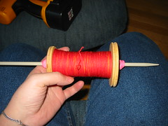 Wound Storage Bobbin