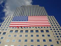 Update American Flag, Ground Zero, 9/11 2006 (Focusje (tammostrijker.photodeck.com)) Tags: newyorkcity blue sky newyork skyscrapers manhattan 911 americanflag 11 right september rememberance wtc copy groundzero infringement copyrightinfringement