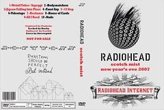 Radiohead - scotch mist dvd cover (streetspirit73) Tags: mist dvd artwork cover scotch radiohead