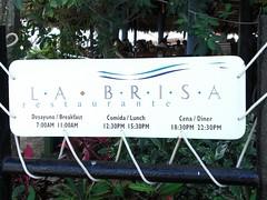 buffet restaurant 'La Brisa'