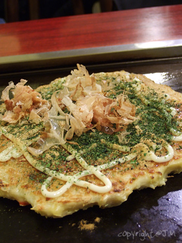 Seafood Okonomiyaki (大阪燒)
