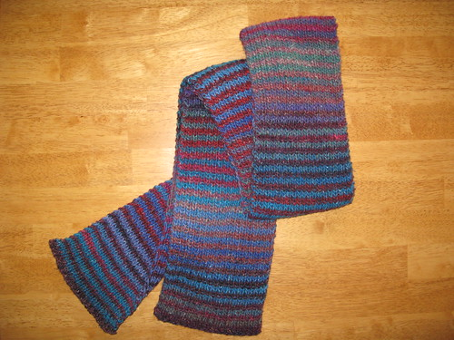 Boku Striped Scarf