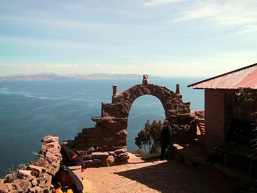 Titicaca: Arriba de la Isla Taquile