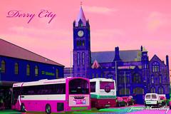 Pink ! (James Whorriskey (Delbert Jackson)) Tags: ireland londonderry northernireland derry guildhall claudy ulsterbus jameswhorriskey delbertjackson jameswhoriskey