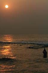 The Sun God (harsha_ganjam) Tags: sun india sunrise worship prayer tamron 90mm vizag vishakapattanam