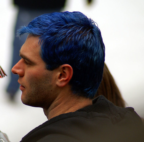 Blue hair - a photo on Flickriver