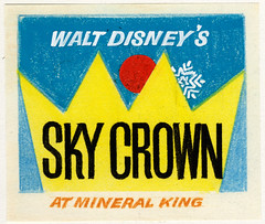 "Walt Disney's ""Sky Crown"" Logo 3"