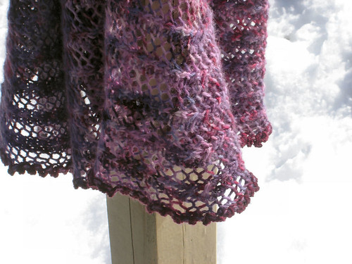 Perfect Pie Shawl
