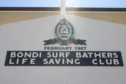 Bondi Life Saving Club.