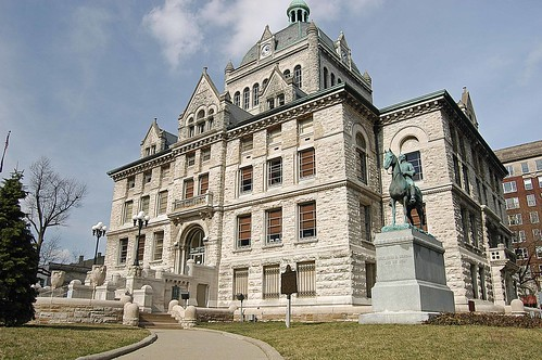 Old Fayette County Courthouse
