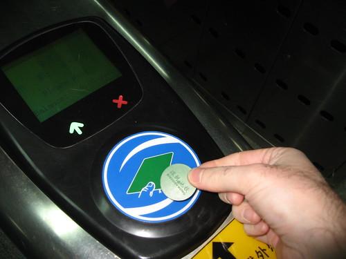 Gambling on the Shenzhen metro