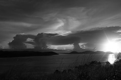 stack o sunset (beclee) Tags: bw ti fnq iloveclouds