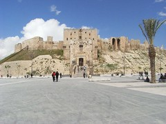 View of the citadel, Aleppo