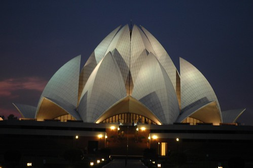 lotus temple, new delhi, india