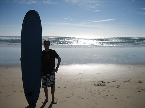 Me, Board, Ocean