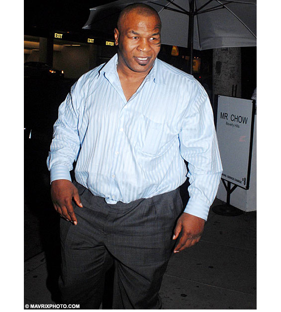 Mike Tyson Weight Gain