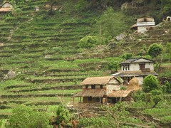 Village in the Annapurna Trek
