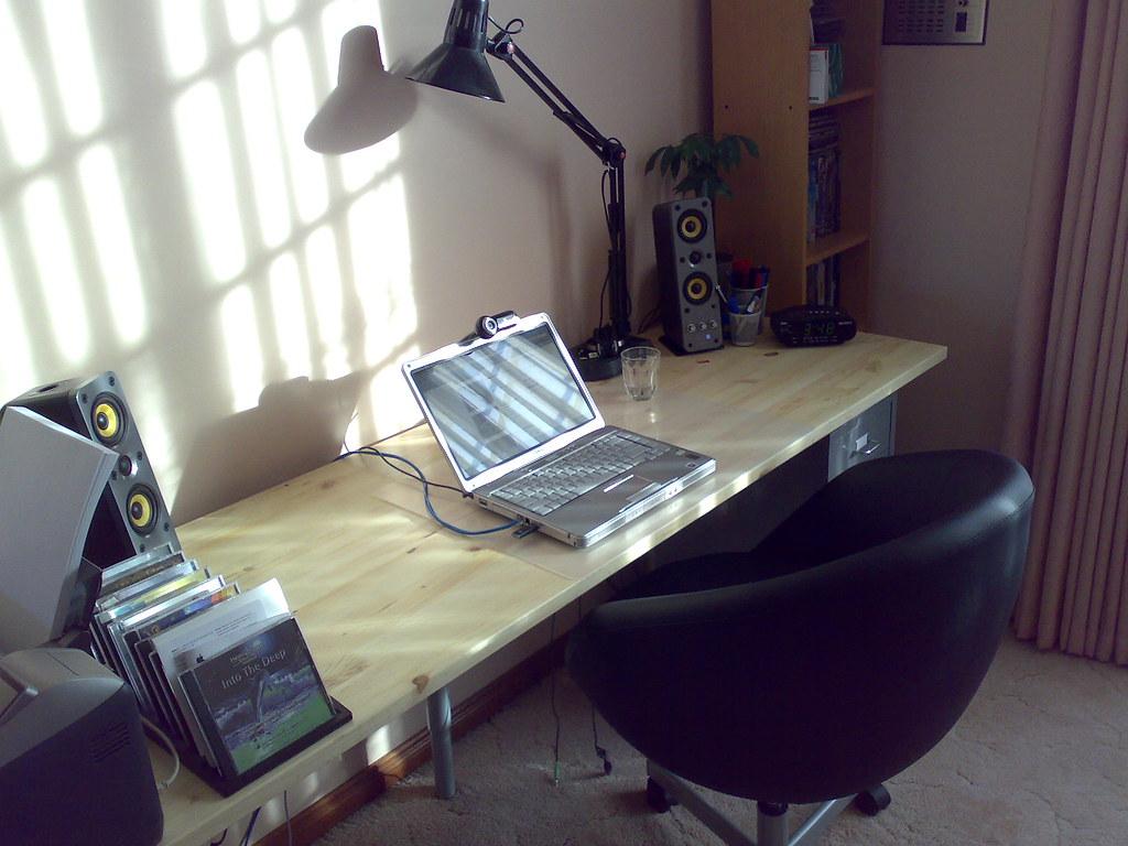 Wider shot of my set up