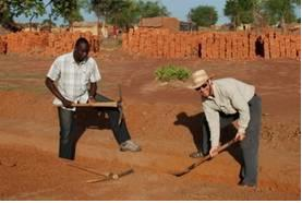 orphanage construction begins