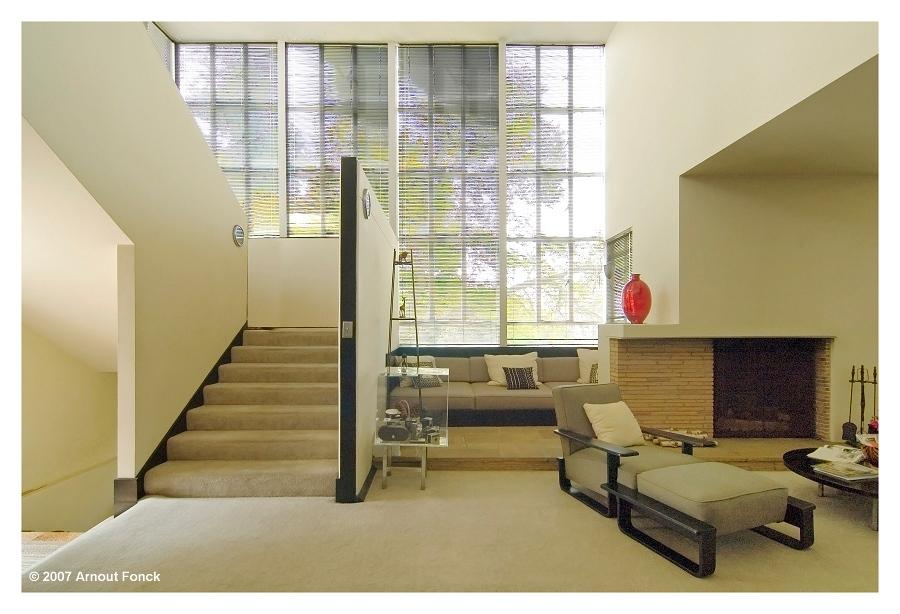 casas modernas por dentro. La Casa Lovell, diseñada por