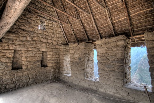 Inside the Hut of the Caretaker of the Funerary Rock