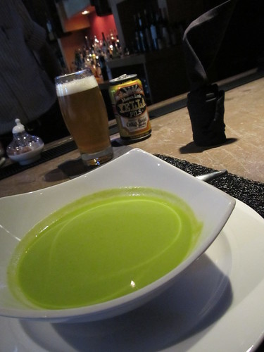 Chilled Pea Soup @Eventide