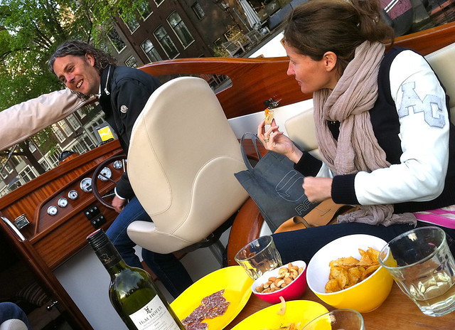 Amsterdam Boat Ride Along the Canals