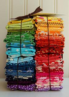 New! color wheel quilt bundle!