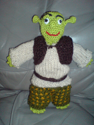 BOUTIQUE Crocheted SHREK EARS OGRE Beanie Hat Skullcap | eBay
